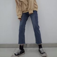 Chililala - Cropped Straight-Cut Jeans