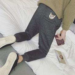 子俊 - 刺繡哈倫褲