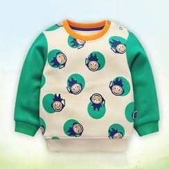 Ansel's - Kids Cartoon Print Sweatshirt