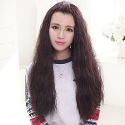 LUMAN - Long Half Wig - Crimped