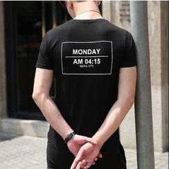 WOOG - Back Lettering T-Shirt