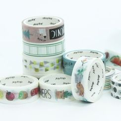 YouBuy - Print Decorative Tape Set (2pcs)