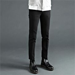 THE COVER - Fleece-Lined Dress Pants