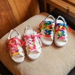 Hambu - Kids Lace Up Sandals