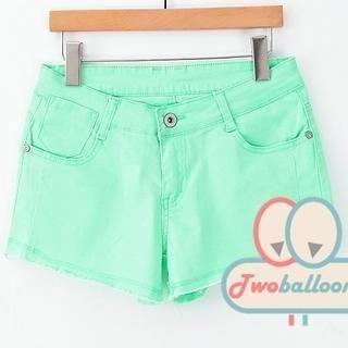 JVL - Fray-Hem Shorts