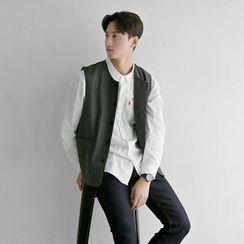 Seoul Homme - Wool Blend Vest