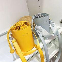 Nautilus Bags - Faux Leather Bucket Bag