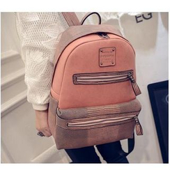 Merlain - Faux-Leather Backpack