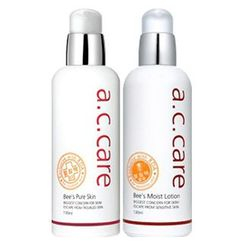 a.c. care - Set: Bee's Pure Skin 130ml + Moist Lotion 130ml