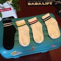 TNMK - 條紋襪