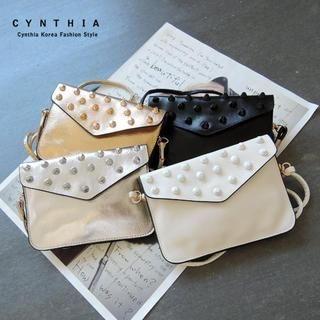CYNTHIA - Studded Crossbody Bag