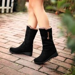 Shoes Galore - Mid-Calf Boots