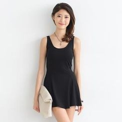 SO Central - Godet Mini Tank Dress