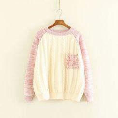 Mushi - Raglan Knit Top
