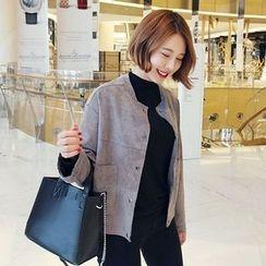Seoul Fashion - Faux-Suede Jacket