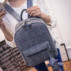 Youme - Plaid Backpack