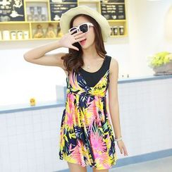 DAISI - Floral Swim Dress