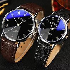 YAZOLE - 仿皮带式手表