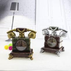 LITUP - Telephone Money Bank Desk Clock