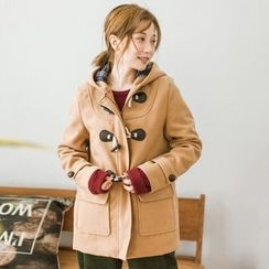 Suzette - Hooded Toggle Coat