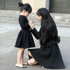 Wind Town - Kids Long-Sleeve Dress