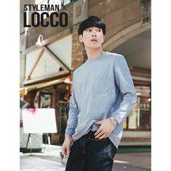 STYLEMAN - Round-Neck Plain T-Shirt