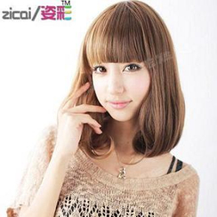 Aura Wigs - 短假髪 - 鬈髪