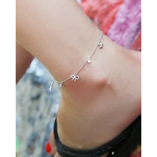 Miss21 Korea - Pendant Dangle Ankle Bracelet