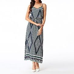 Rebecca - Printed Maxi Dress