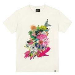 the shirts - Flower Garden Print T-Shirt