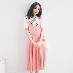Tokyo Fashion - Pleated Strappy Dress