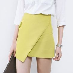 Sens Collection - A-Line Asymmetric Skirt