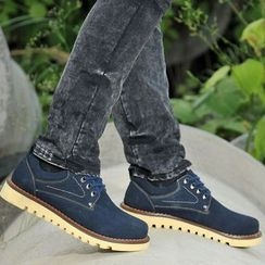 Van Camel - Genuine Suede Casual Shoes