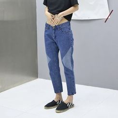 Everose - Slim-Fit Cropped Jeans