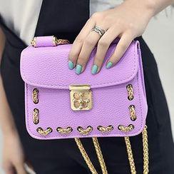 Clair Fashion - 链饰扣肩背包
