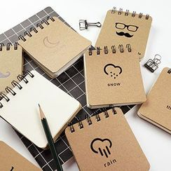 Cute Essentials - Small Print Notebook