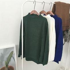 Soulcity - Mock Neck Sweater
