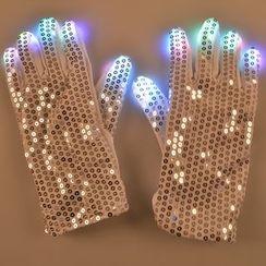 Hotaru - 亮片LED燈手套