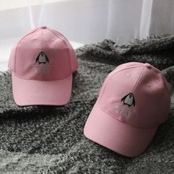 Hats 'n' Tales - Penguin Embroidered Baseball Cap