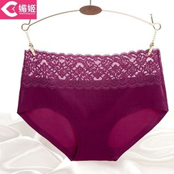 Charming Lover - Lace-Trim Panties