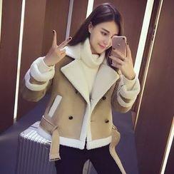 MIUCO - 毛里双襟夹克