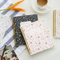 Show Home - Floral Print Notebook (M)