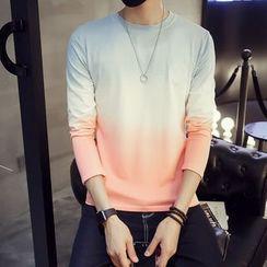 Hansler - Long-Sleeve Gradient T-Shirt