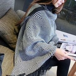 Pompabee - Patterned Hooded Cape
