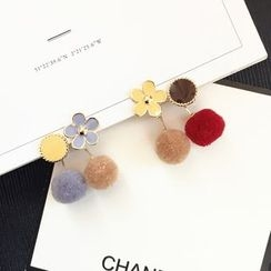 FROME - Bobble Non-Matching Earrings