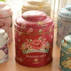 Show Home - Flower Print Tin