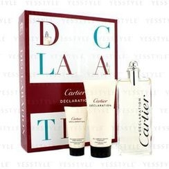 Cartier - Declaration Coffret: Eau De Toilette Spray 100ml/3.3oz + All Over Shampoo 100ml/3.3oz + After Shave Emulsion 30ml/1oz