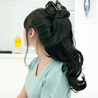 GABALMANIA - Claw Long Ponytail - Wavy