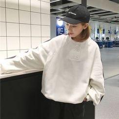 Dute - Panel Fleece-lined Sweatshirt