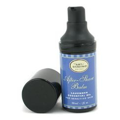 The Art Of Shaving - After Shave Balm - Lavender Essential Oil (Travel Size, Pump, For Sensitive Skin)